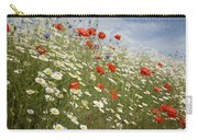 Poppies Et Al Iv Carry-all Pouch
