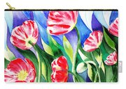 Poppies Field Square Quilt  Carry-all Pouch