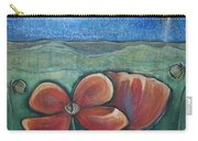 Poppies For Barbara And Paul Carry-all Pouch
