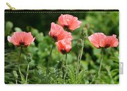 Poppies In My Garden Carry-all Pouch