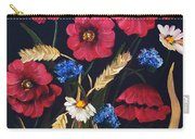 Poppies In Oils Carry-all Pouch