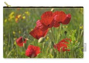 Poppies In Yorkshire Carry-all Pouch