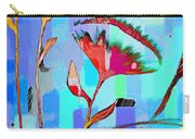Poppies On Blue 2 Carry-all Pouch