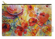 Poppies On Fire Carry-all Pouch
