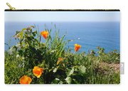 Poppies On The Pacific Carry-all Pouch
