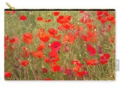 Poppies Vii Carry-all Pouch