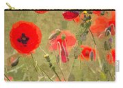 Poppies X Carry-all Pouch