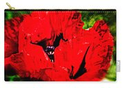 Giant Poppy Art  Carry-all Pouch