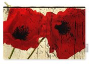 Poppy Art Carry-all Pouch