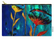 Poppy At Night Abstract 1 Carry-all Pouch