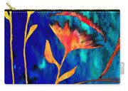 Poppy At Night Abstract 2 Carry-all Pouch