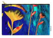 Poppy At Night Abstract 3  Carry-all Pouch
