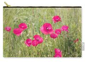 Poppy Blush Carry-all Pouch