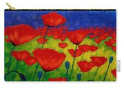 Poppy Corner II Carry-all Pouch by John  Nolan
