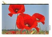 Poppy Fields 4 Carry-all Pouch