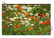 Poppy Fields - Beautiful Field Of Spring Poppy Flowers In Bloom. Carry-all Pouch