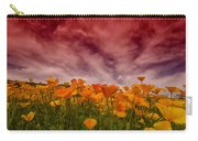 Poppy Fields Forever Carry-all Pouch
