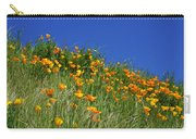Poppy Flowers Landscape Art Prints Poppies Carry-all Pouch