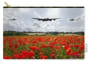 Poppy Fly Past Carry-all Pouch