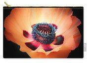 Poppy In The Darkness Carry-all Pouch
