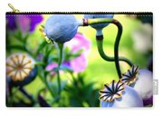Poppy Pods And Curvy Stems. Carry-all Pouch