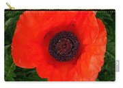 Poppy Of Remembrance  Carry-all Pouch