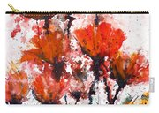 Poppy Splashes Carry-all Pouch