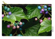 Porcelain Berries Carry-all Pouch