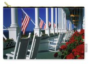 Porch Of The Grand Hotel, Mackinac Carry-all Pouch