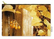 Porch Post Berries Glow Carry-all Pouch