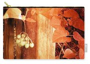 Porch Post Berries Rust Carry-all Pouch