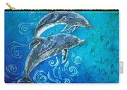 Porpoise Pair Carry-all Pouch