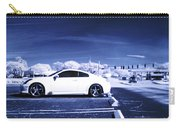 Porsche Car Side Profile Blue Near Infrared Carry-all Pouch