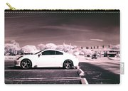 Porsche Car Side Profile Pink Near Infrared Carry-all Pouch