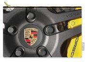 Porsche Vorsteiner Wheel Logo Carry-all Pouch