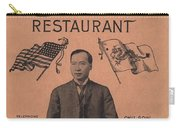 Port Arthur Restaurant New York Carry-all Pouch by Movie Poster Prints