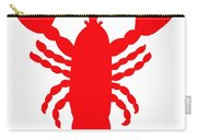 Port Clyde Maine Lobster With Feelers 201300605 Carry-all Pouch