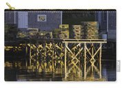 Port Clyde Pier On The Coast Of Maine Carry-all Pouch