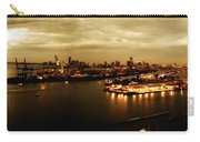 Port Miami Golden Photopaint Carry-all Pouch