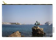 Port Of The Myloi And Dolphins - Rhodos Citys Carry-all Pouch