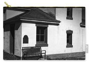 Port Wilson Lighthouse Bench Bw Carry-all Pouch