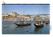 Port Wine Boats In Porto City Carry-all Pouch