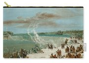 Portage Around The Falls Of Niagara At Table Rock Carry-all Pouch
