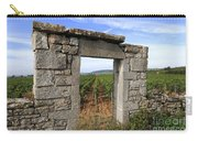 Portal Of Vineyard In Burgundy Near Beaune. Cote D'or. France. Europe Carry-all Pouch