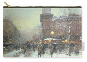 Porte St Martin In Paris Carry-all Pouch