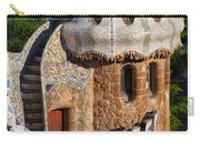 Porter's Lodge Pavilion In Park Guell Carry-all Pouch
