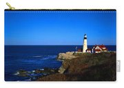 Portland Head Light Panoramic View Carry-all Pouch