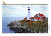 Portland Head Light House In Maine Carry-all Pouch
