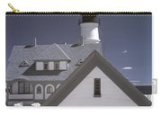 Portland Head Light In Ir Carry-all Pouch