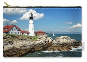 Portland Head Light In Maine Carry-all Pouch